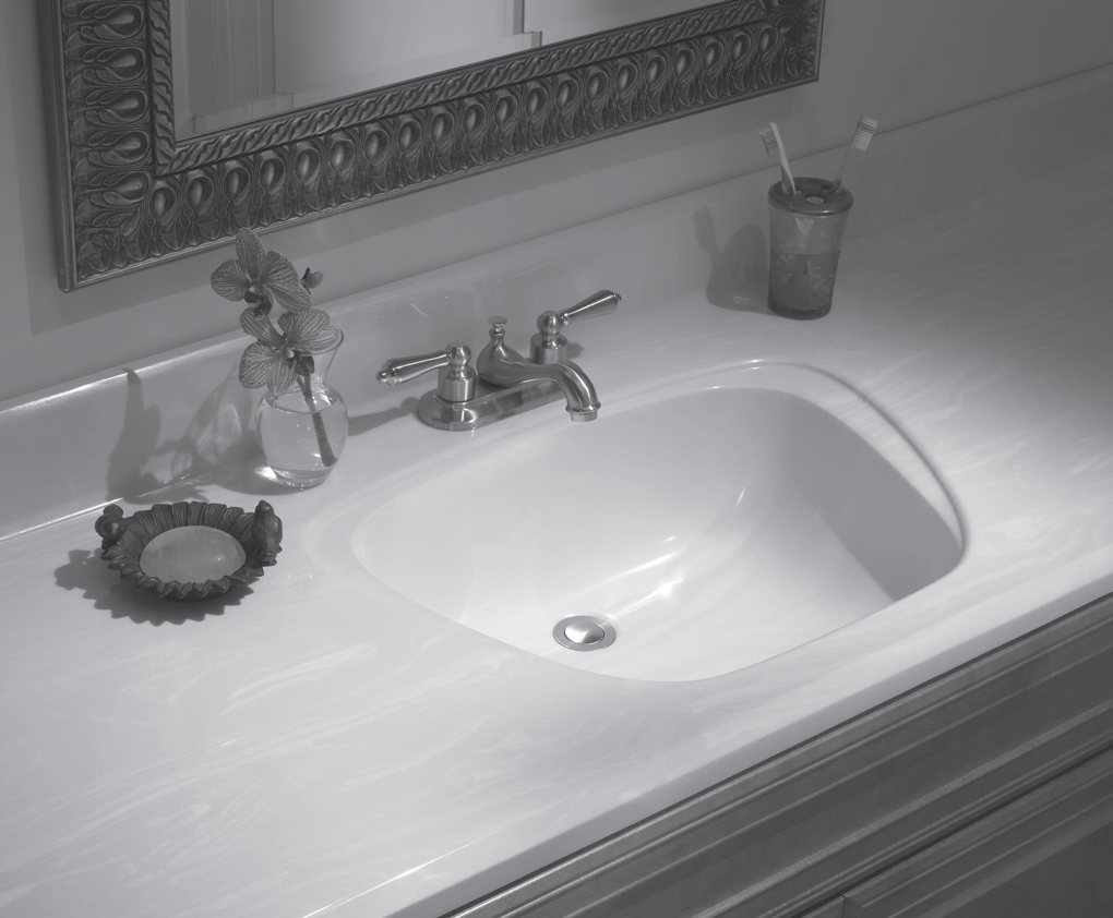 528d1da1c18 Lippert Vanity Top w  Aurora Sink. Summary. Lippert Cultured Marble